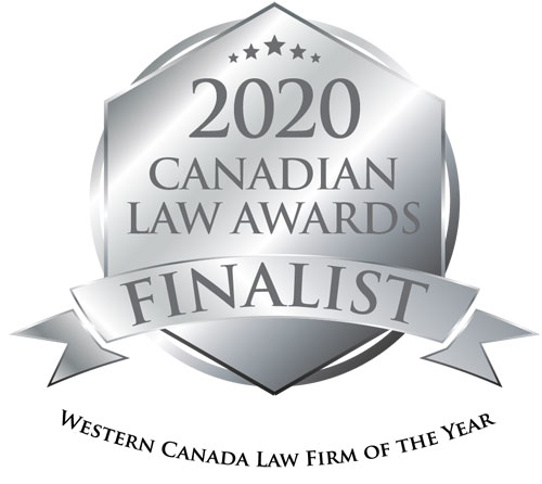 2020 Canadian Law Awards Finalist