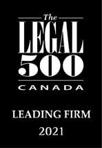 The Legal 500 Leading Firm in Dispute Resolution
